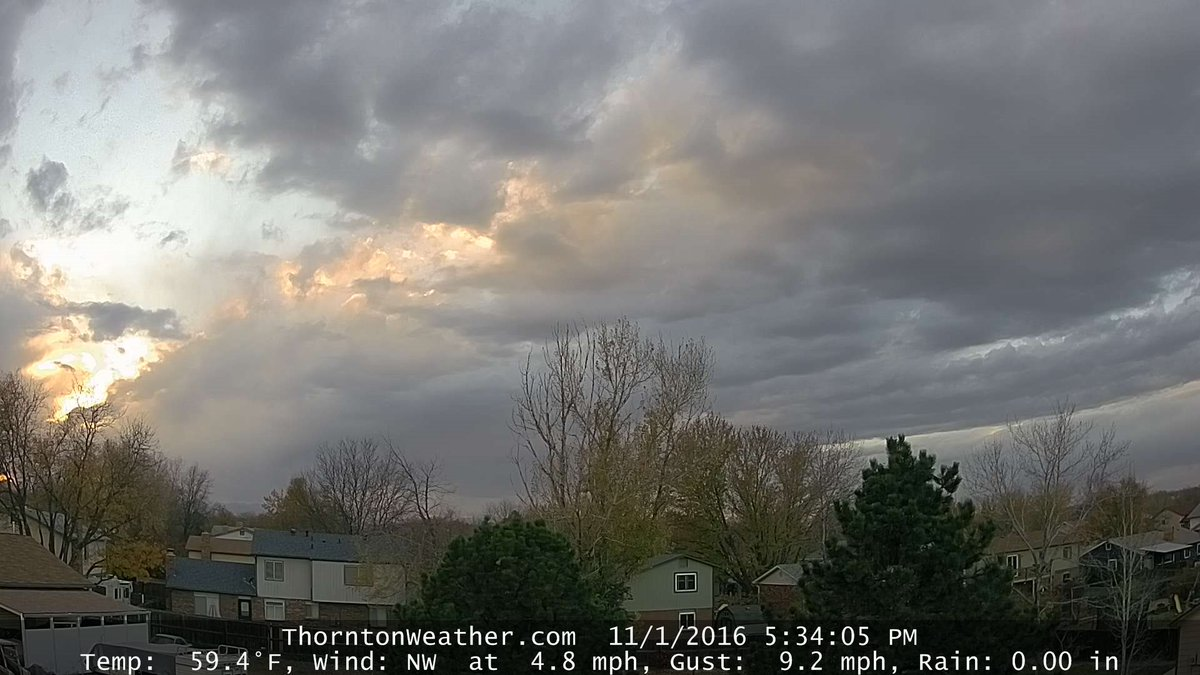 thornton weather on twitter shaping up to be a very pretty sunset in thornton live webcams https t co n3xl1mulu6 cowx twitter