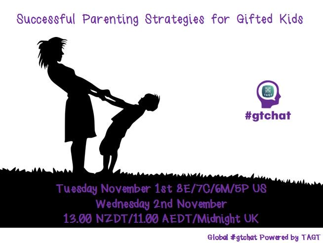 Thumbnail for #gtchat: Successful Parenting Strategies for Gifted Kids