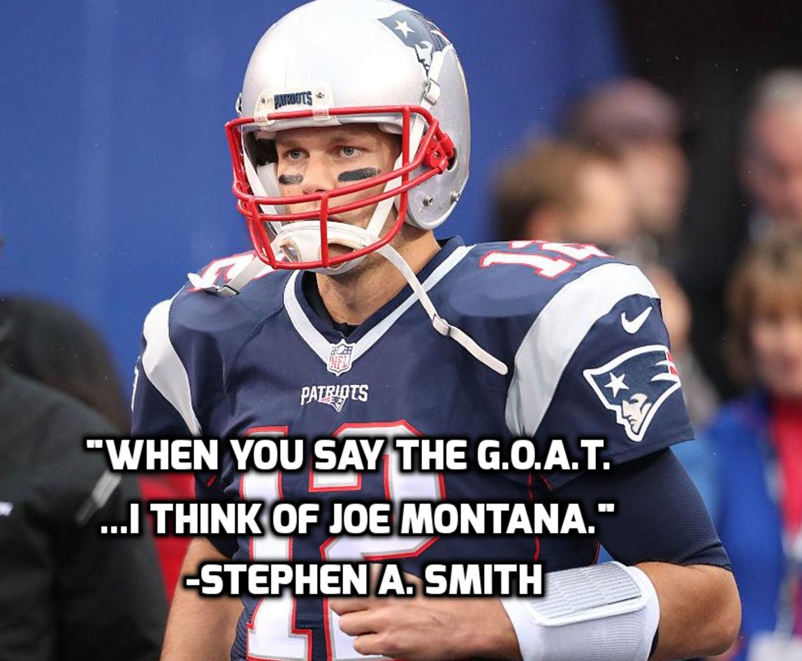 Tom Brady is one of the all-time greats but to be the G.O.A.T. you must be unblemished!