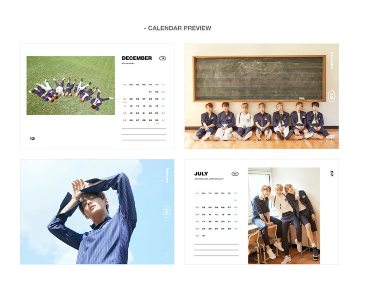 Sweetest Collection On Twitter Previews Bts Seasons Greetings