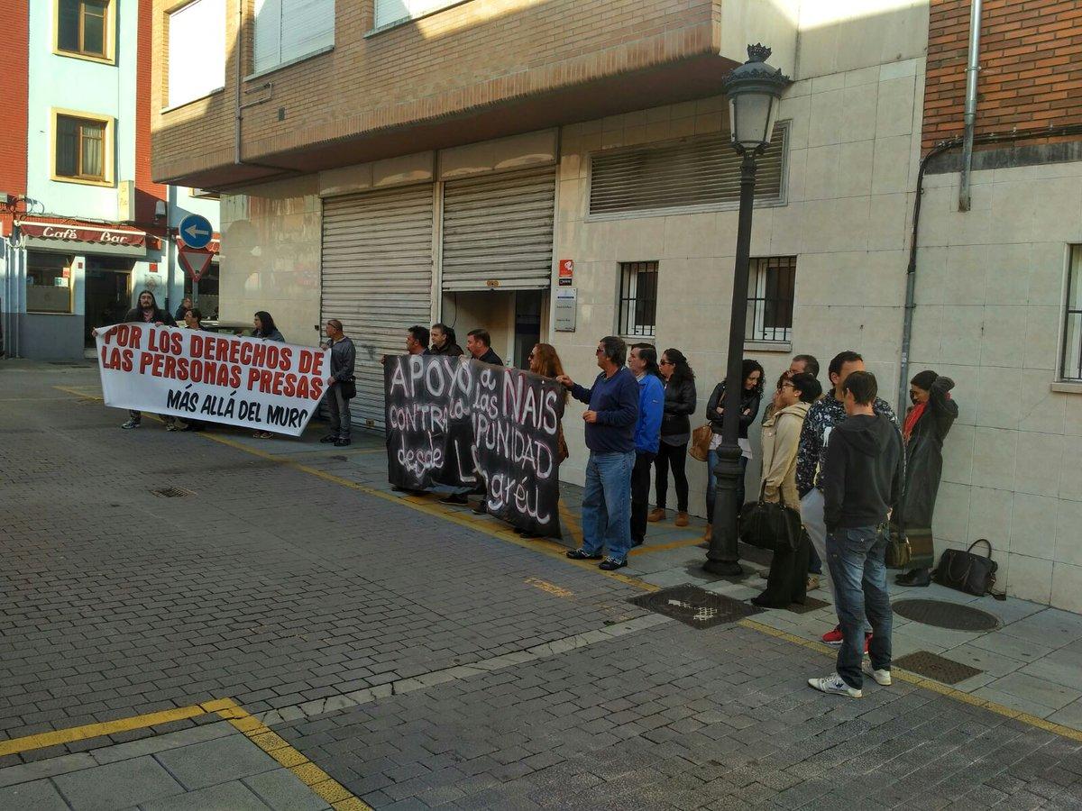 Una de las concentraciones realizadas ayer en apoyo al colectivo Nais contra Impunidade Foto:@boletintokata