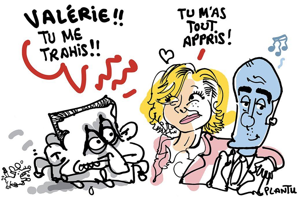 """PLANTU Officiel auf Twitter: """"PRIMAIRES A DROITE: Valérie Pécresse soutiendra Alain Juppé. Le dessin du Monde de ce mercredi 2 novembre.… """""""