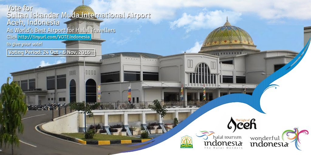 Pariwisata Ekonomi Kreatif على تويتر World S Best Airport For Halal Travellers Sultan Islandar Muda International Airport Banda Aceh Aceh Whta2016 Wonderfulindonesia Https T Co Jldnohx9fg تويتر