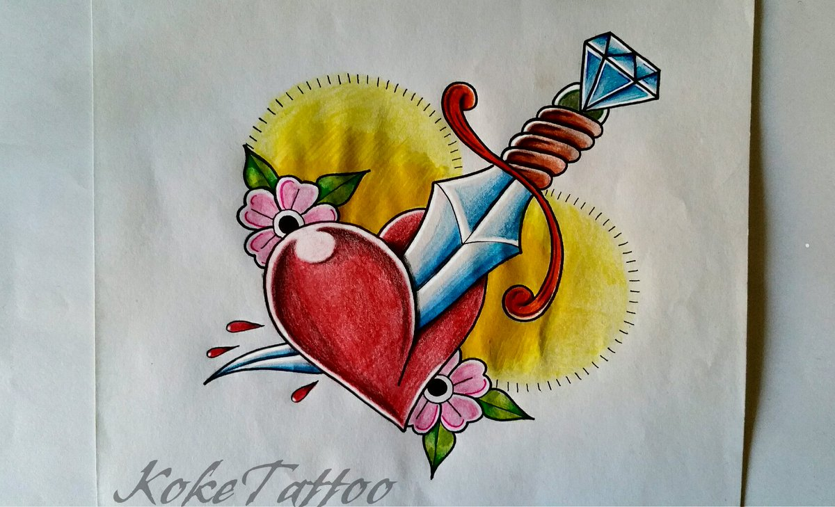 Koke Tattoo On Twitter Diseño Desing Newschool Oldschool