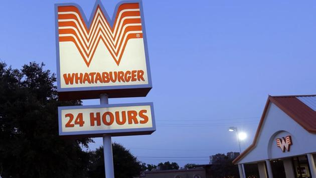 Each and every Whataburger® is still made to order. We still use % pure beef and serve it on a big, toasted five-inch bun. And now, as we proudly serve burgers, chicken, salads and breakfast at more than Whataburger locations across the country, that first burger stand is still close to our hearts.5/10(26).