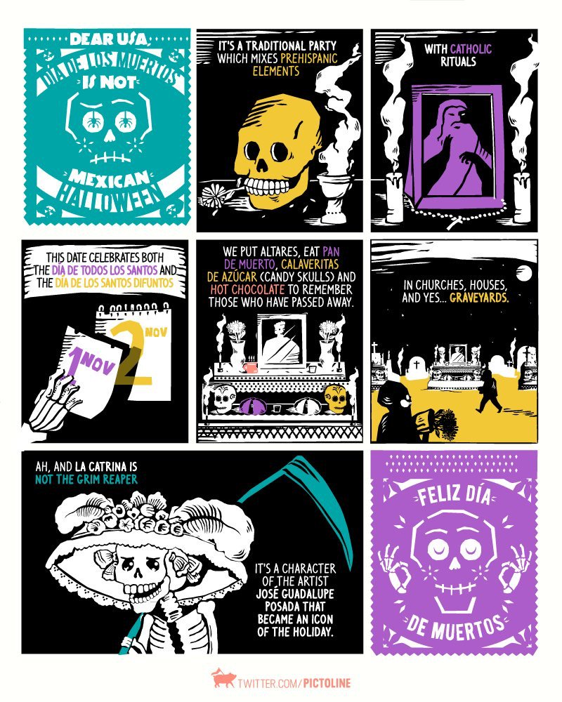 Dear Britain: the Mexican Day of the Dead explained... https://t.co/tPHxUZmE6j