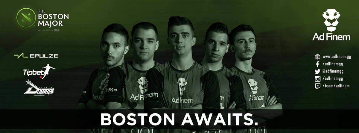"""AD FINEM on Twitter: """"Our #RoadToBoston in highlights ! You can watch your  LION'S highlights here : https://t.co/Rzb8dqH9u6 #dota2 #BostonMajor #RoaR…  ..."""