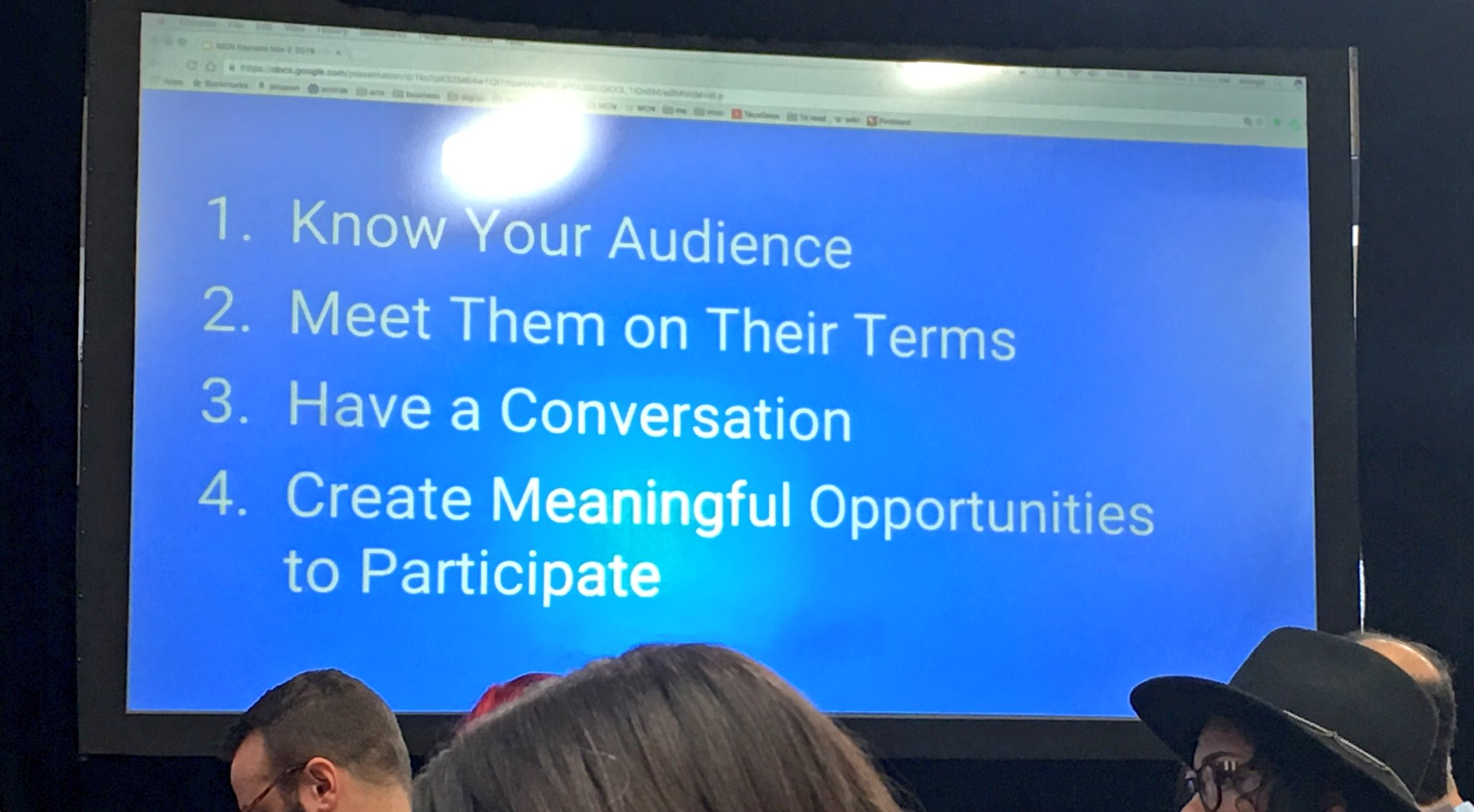 Here senior managers, here's how via @cbracy. Your #musesocial managers are pros at this, we can help. #MCN2016 https://t.co/7WfY3FEAx8