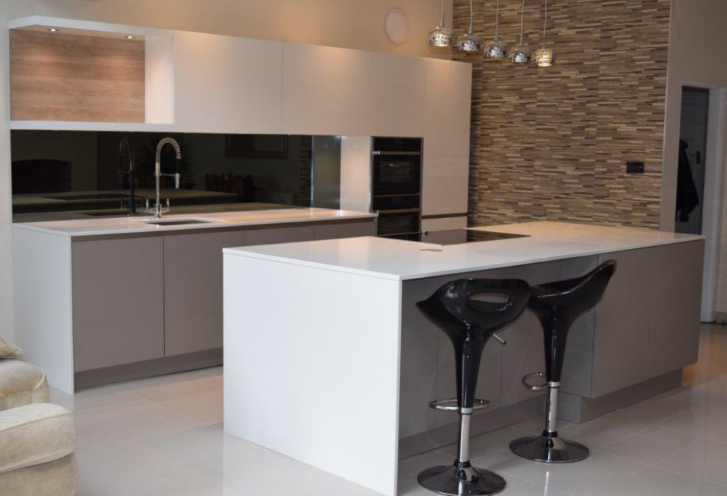 Another wonderful rempp kitchen complete congo white gloss stunning simplicity neff kitchenpic twitter com w0vpnziu7l
