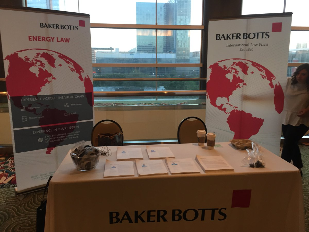 Kicking of #DWEnergy16 in style! Make sure to come by and check out @bakerbotts table! @Debtwire https://t.co/rLPPpxeQ8Q