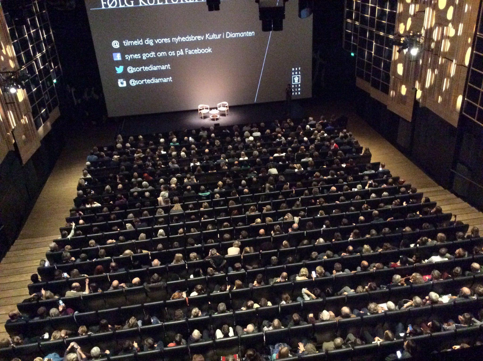 600 forventningsfulde hoveder er næsten klar til Haruki Murakami og Mette Holm i Den Sorte Diamant #MurakamiDK #DKkultur #dklitt https://t.co/UXkX2f2XEp