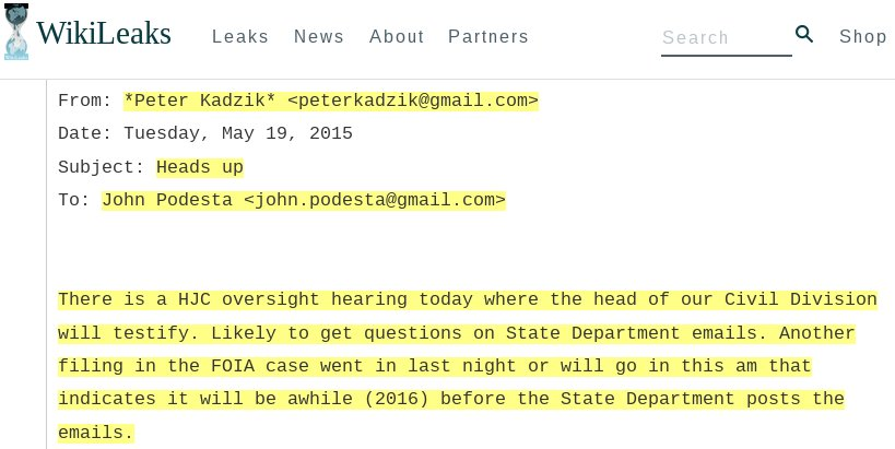 DoJ Assistant Attorney Peter Kadzik outed as a mole for Hillary Clinton campaign https://t.co/MNHzJ310Nl