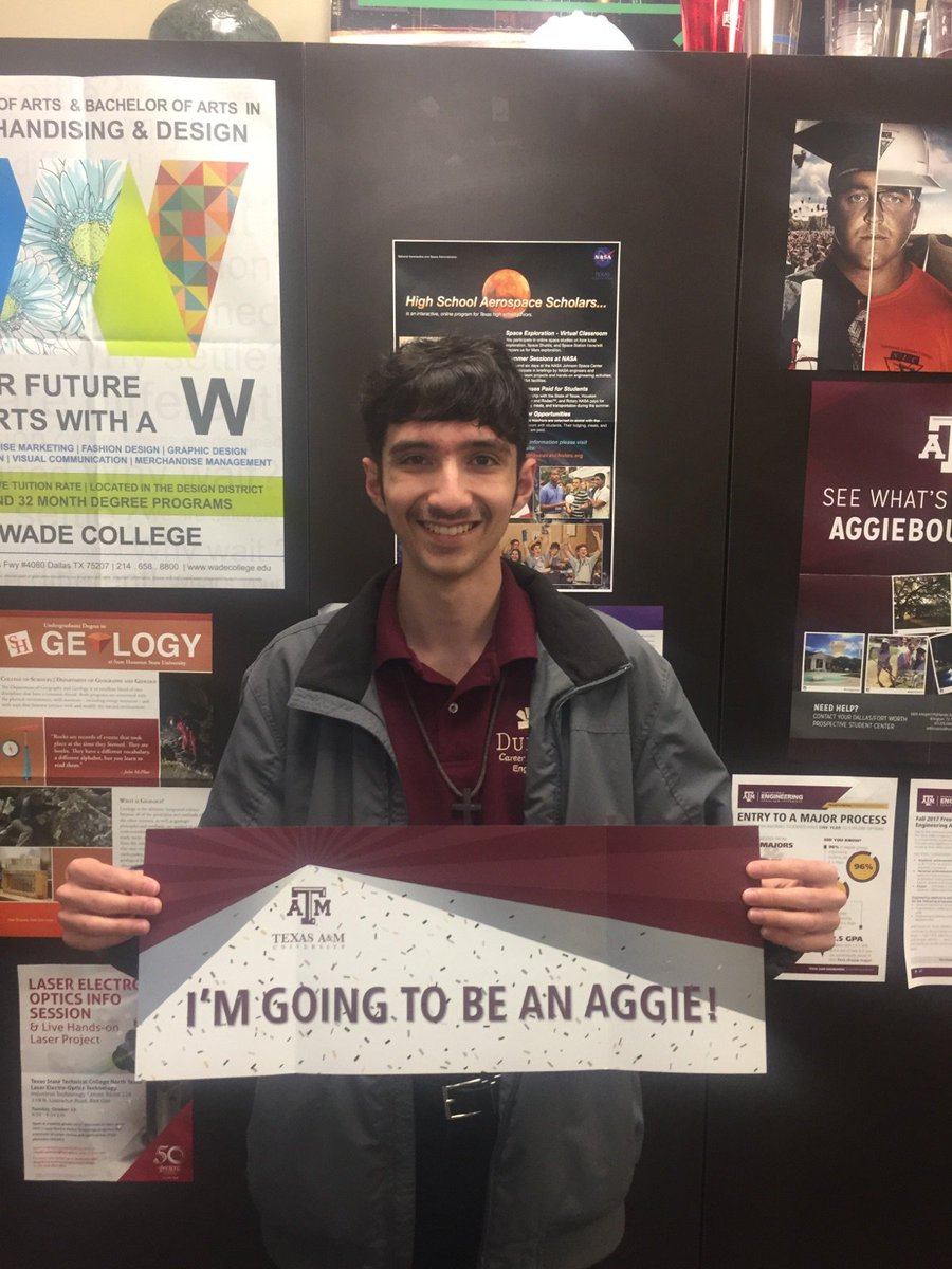 Acceptance to Texas A&M?
