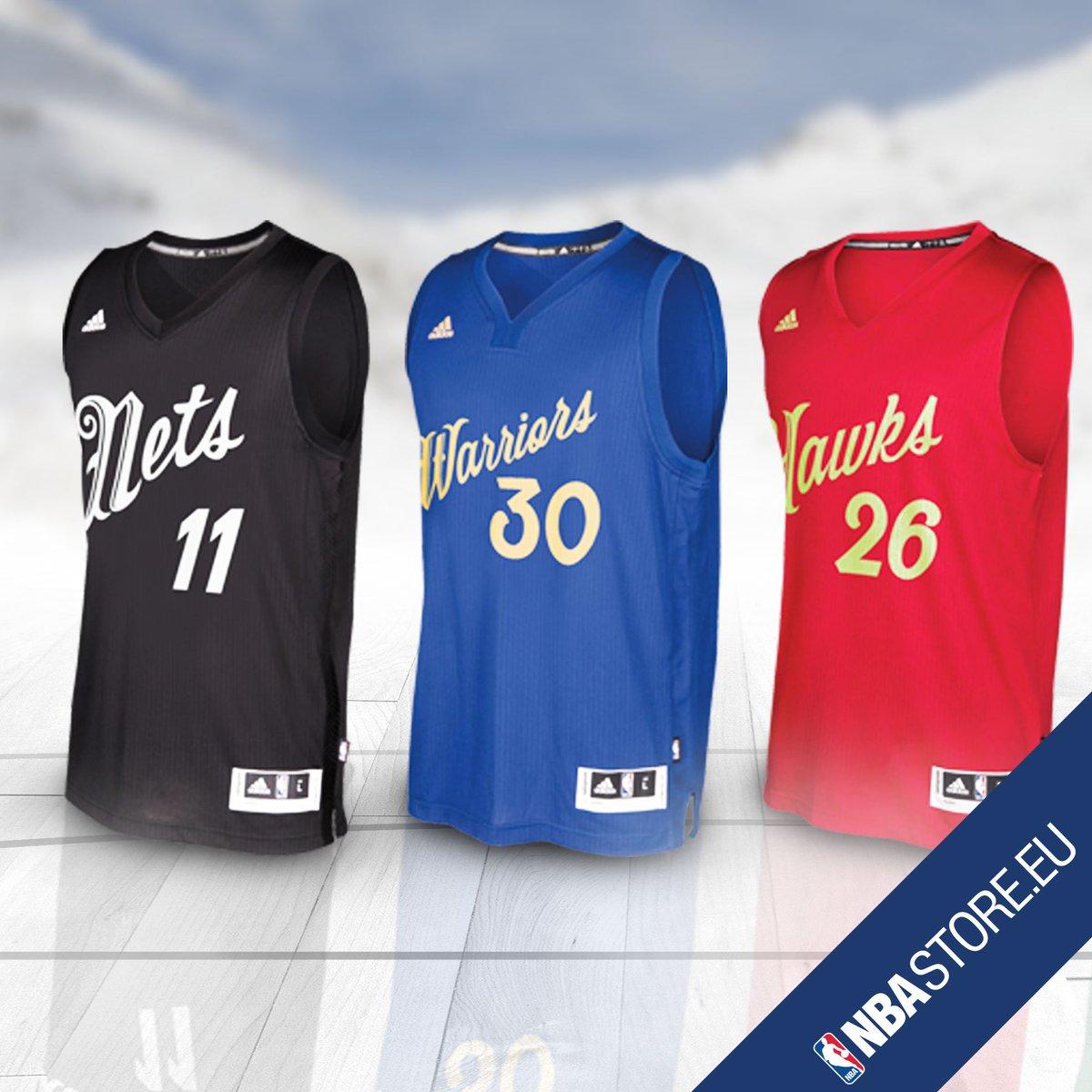 La NBA presenta las camisetas adidas del día de Navidad
