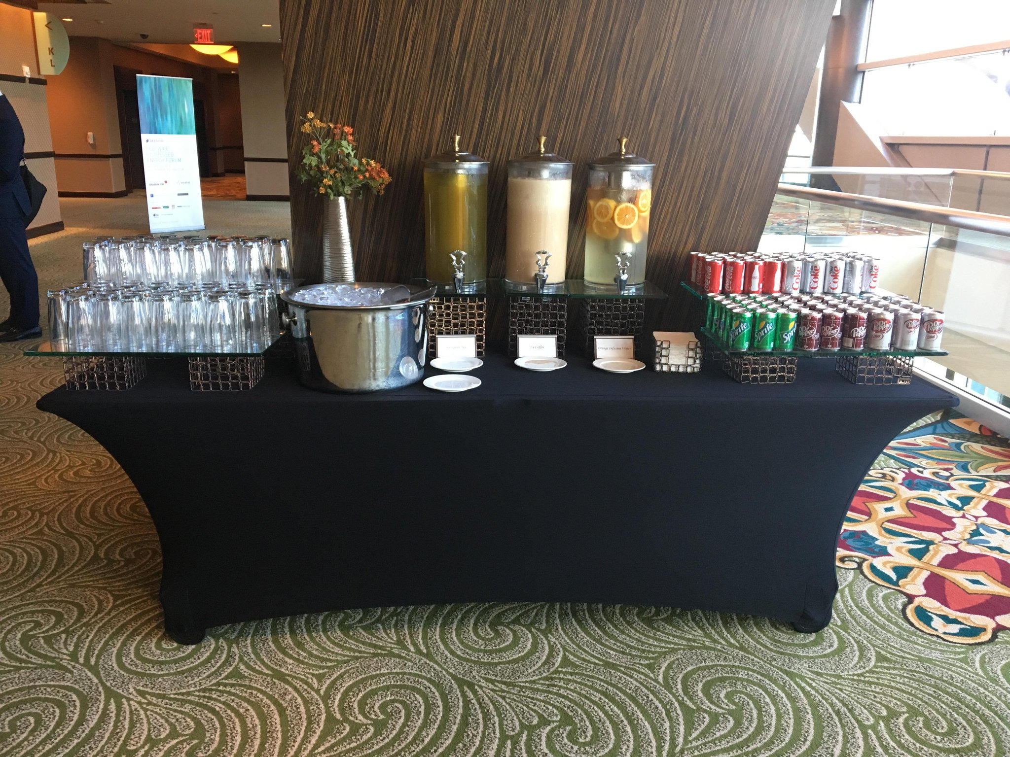 While attendees are getting ready for their #networking break at #DWEnergy16 we have refreshments ready! More events https://t.co/Hb4e0qI1g9 https://t.co/gWQlewaFbT