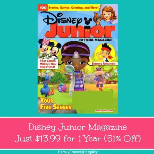 Disney Junior Magazine Just $13.99 for 1 Year (76% Off) https://t.co/75sqhOGDmh #discount https://t.co/Dwbct5BiWu