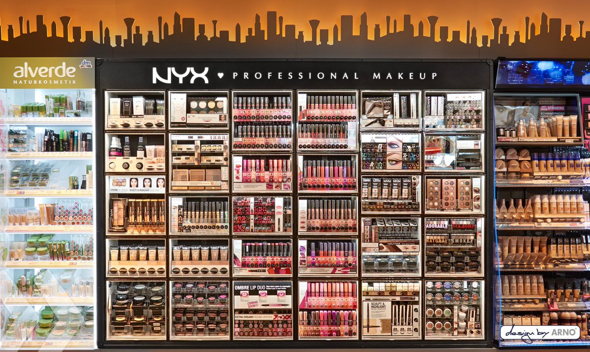 Order NYX Cosmetics products at Boozyshop