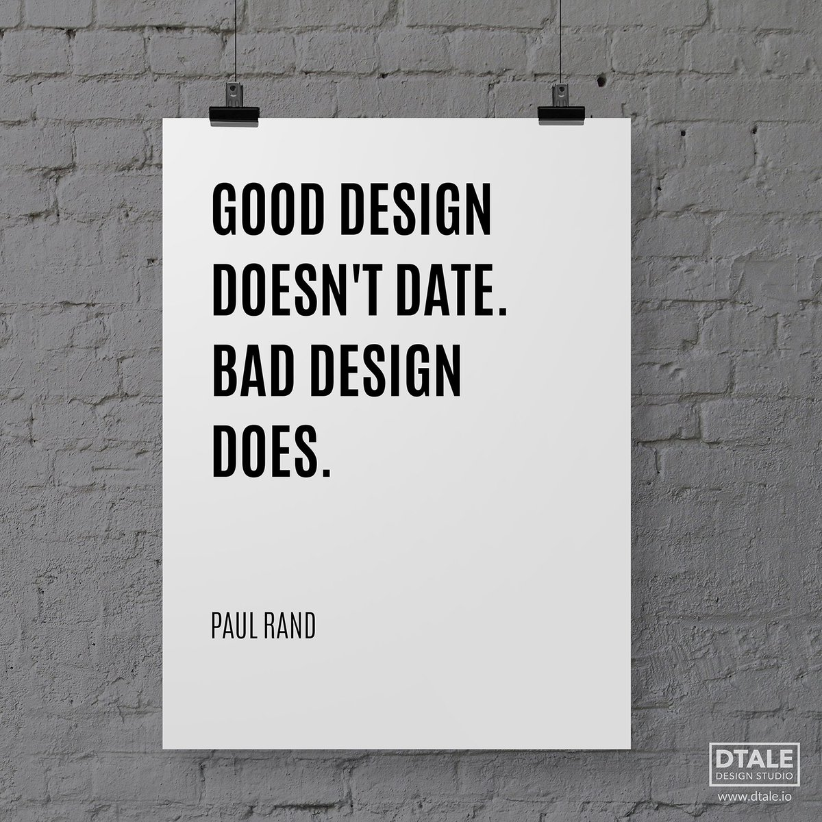 """A Decorating Style That Doesn T Get Dated: DTALE Design Studio On Twitter: """"#Design #Quote 3: Good"""