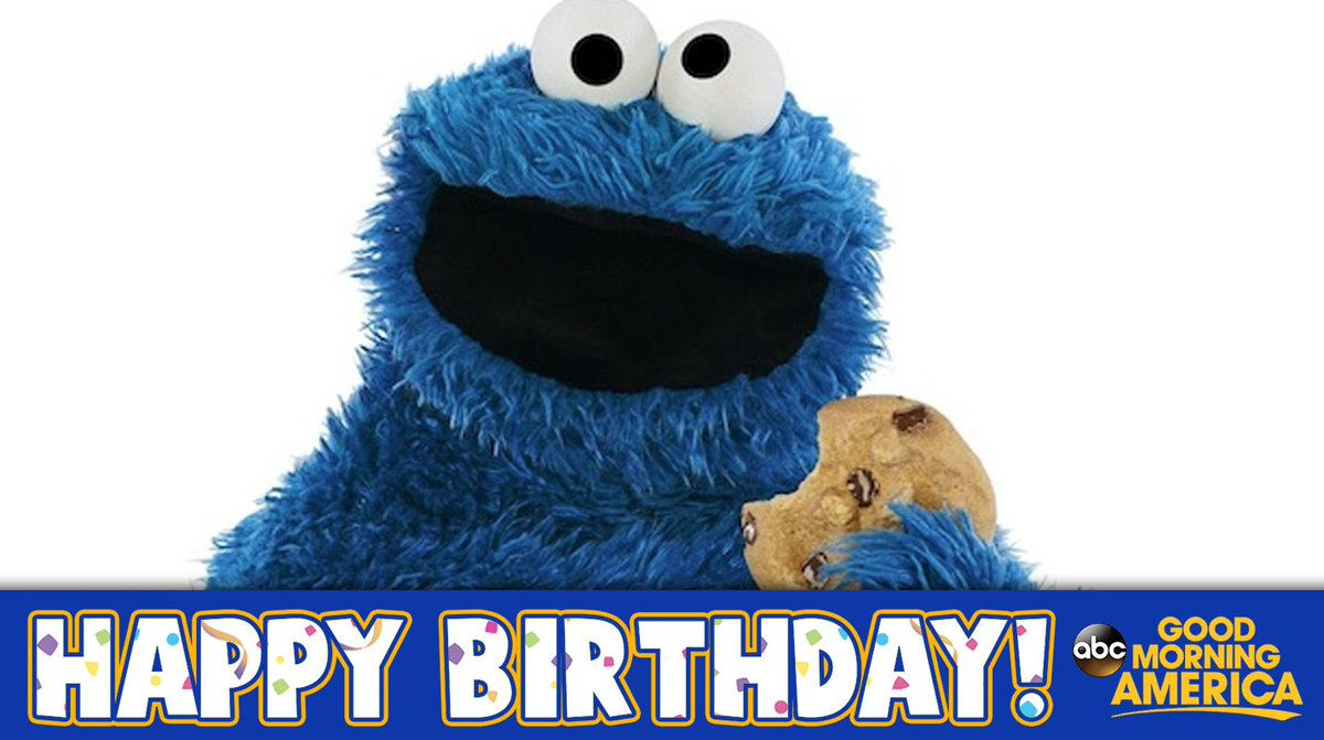 Happy Birthday to @MeCookieMonster! 🍪  #...