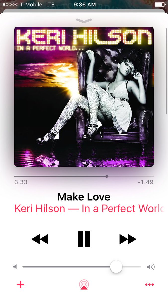 @KeriHilson gettin me right this morning