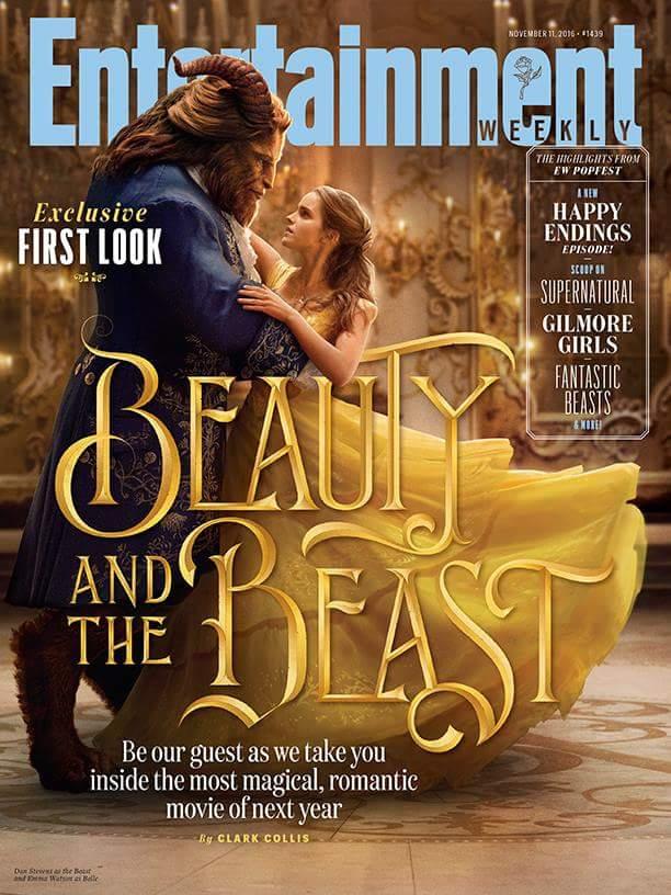 Dan Stevens y Emma Watson como La Bella y La Bestia en la portada de @EW https://t.co/9vNJZ3veKJ