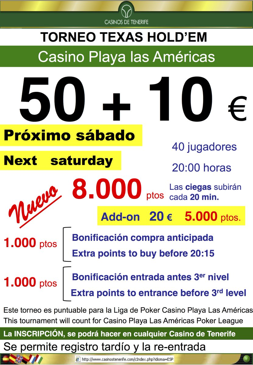 casino teneriffa poker