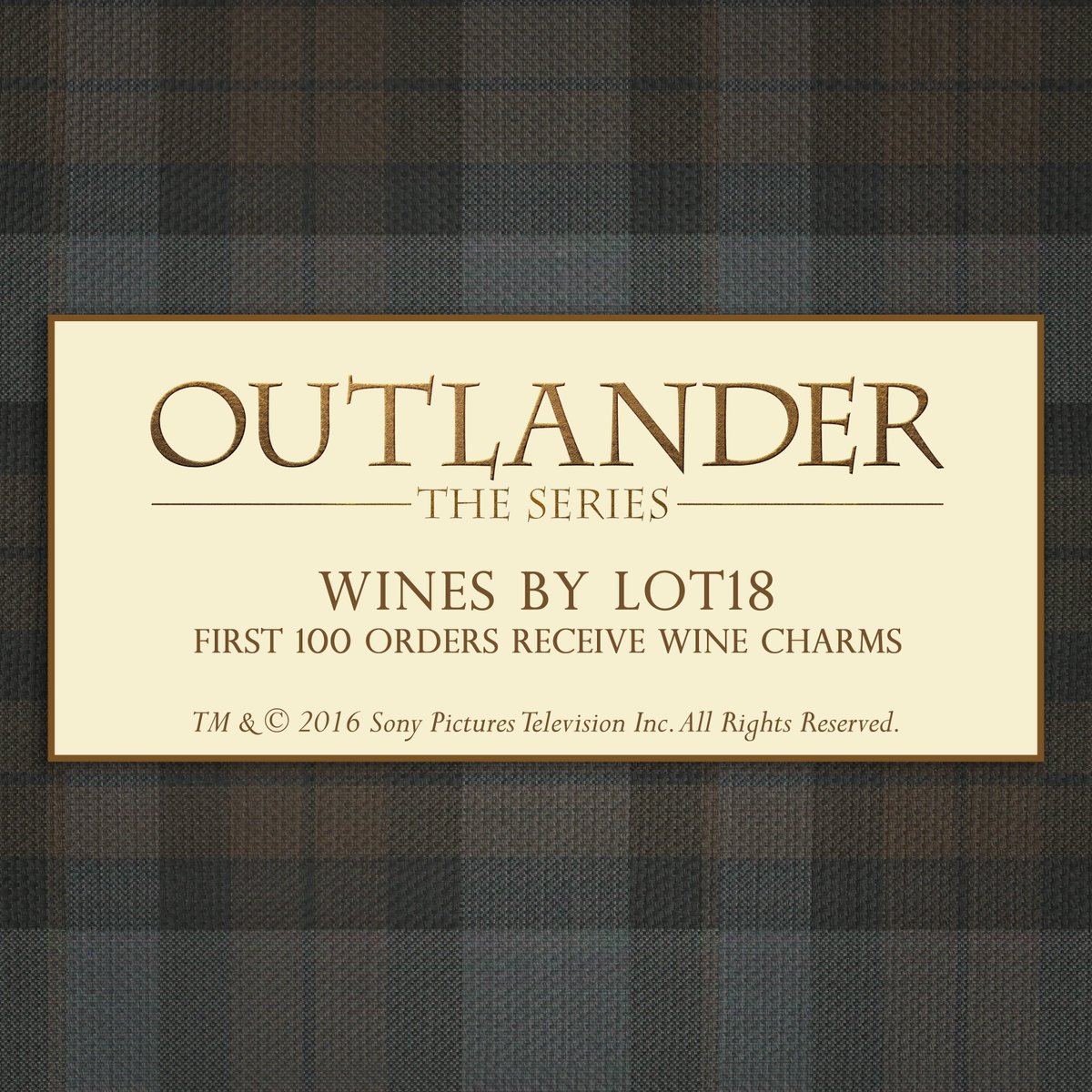 Limited edition #Outlander wines are here! First 100 buyers get a set of wine charms! https://t.co/6183MioLg1 https://t.co/lDAQvVSLIU