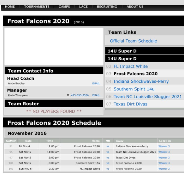 Falcon Schedule 2020 Frost Falcons 2020 (@2020Frost) | Twitter