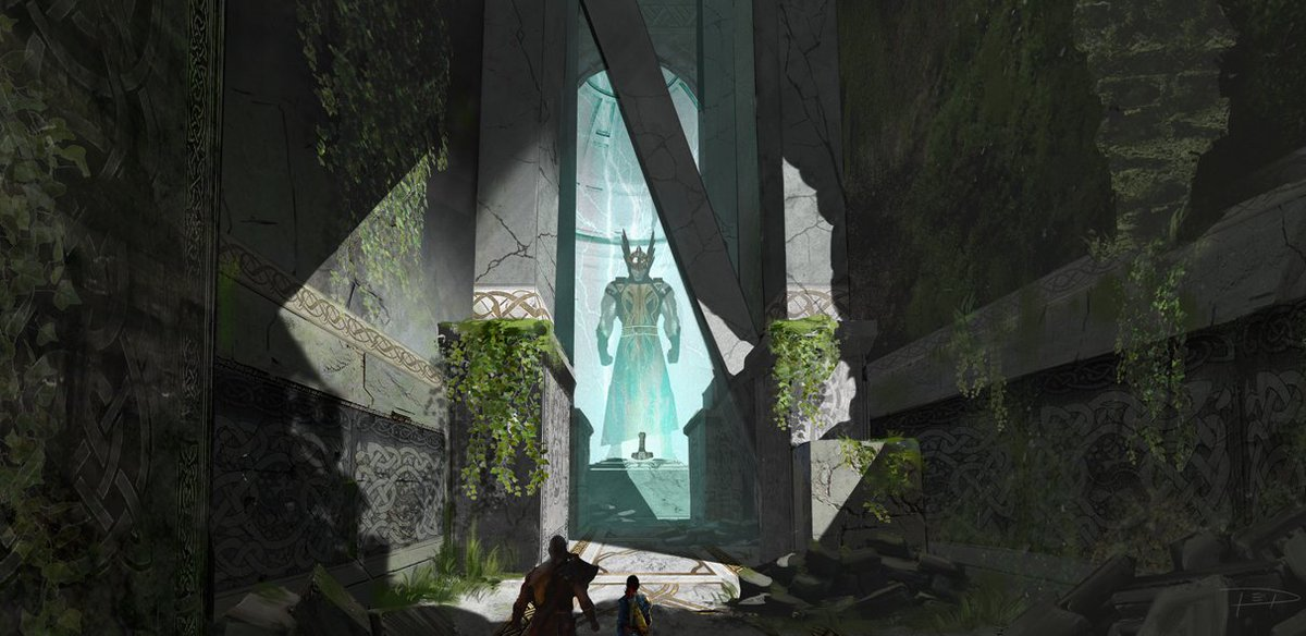 Thor Concept Art God Of War
