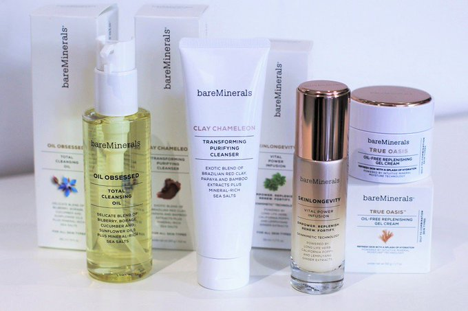 Have you tried the new bareMinerals skincare products? bbloggers bareMinerals beauty
