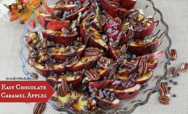 Easy Chocolate Caramel Apples
