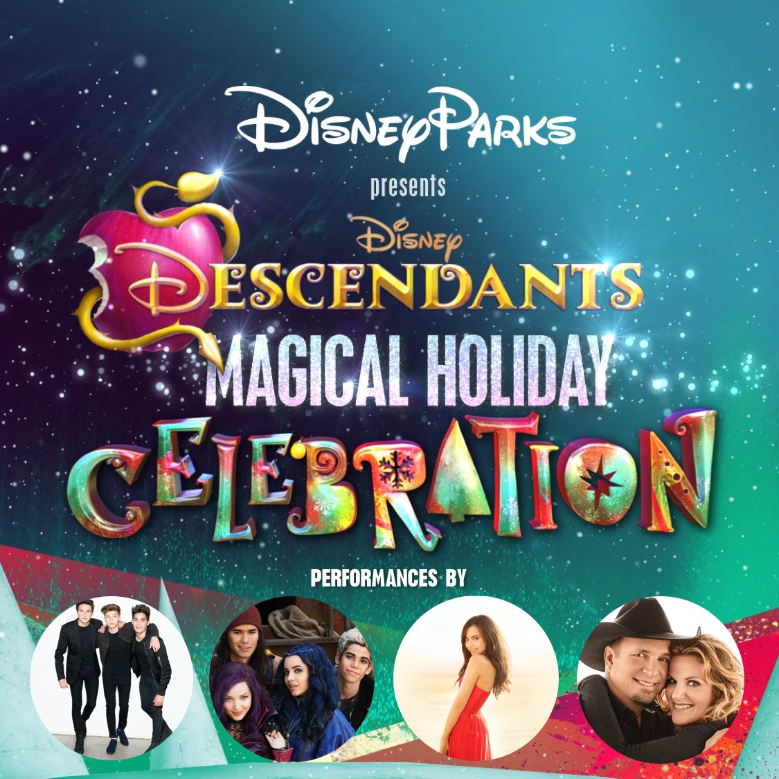 Resultado de imagem para A Descendants Magical Holiday Celebration 2016