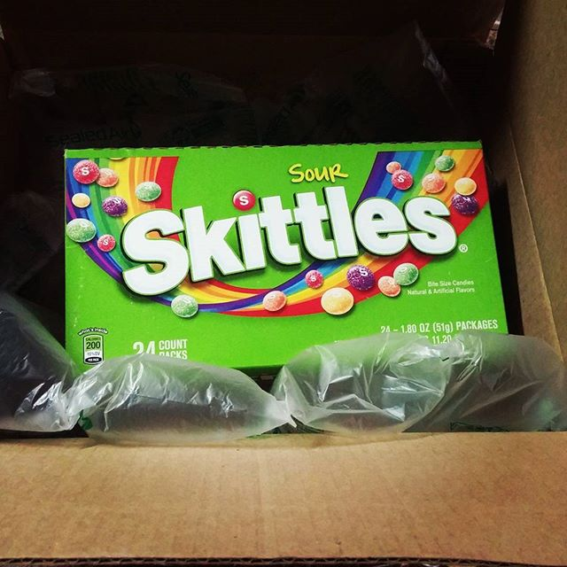 amazon com on twitter when you order a giant box of sour skittles