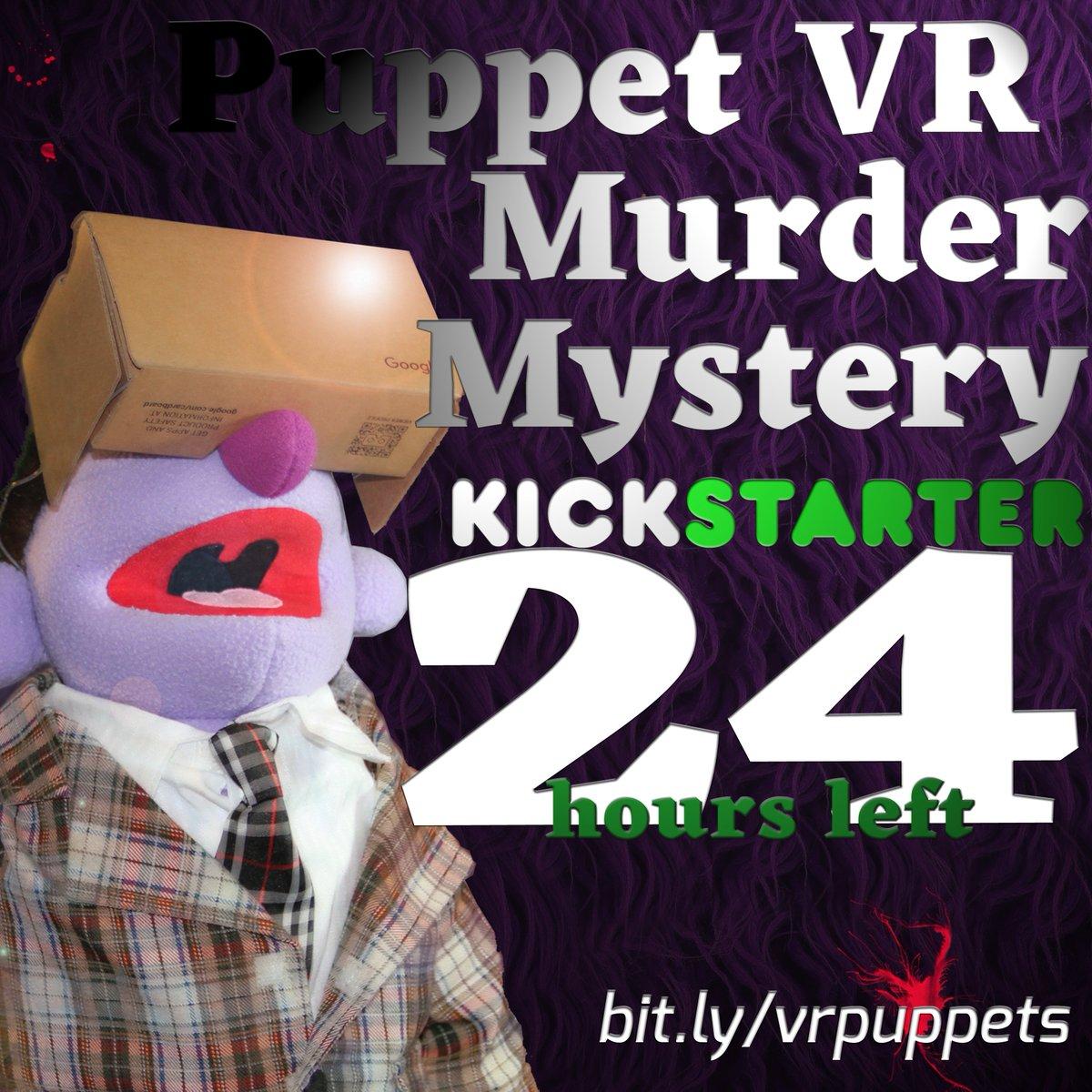 24 hours left on my crazy Kickstarter!! https://t.co/yX7YvbwhVz https://t.co/XjtN0hO5Q6