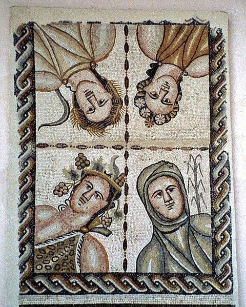 Tempora. | Las Estaciones. | The Seasons.  #Mosaico https://t.co/ymtYGiGL4J
