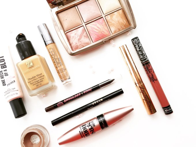 Top 10 Holy Grail Makeup Products BBlogRT BloggingGals fblchat bbloggers beautyblogger