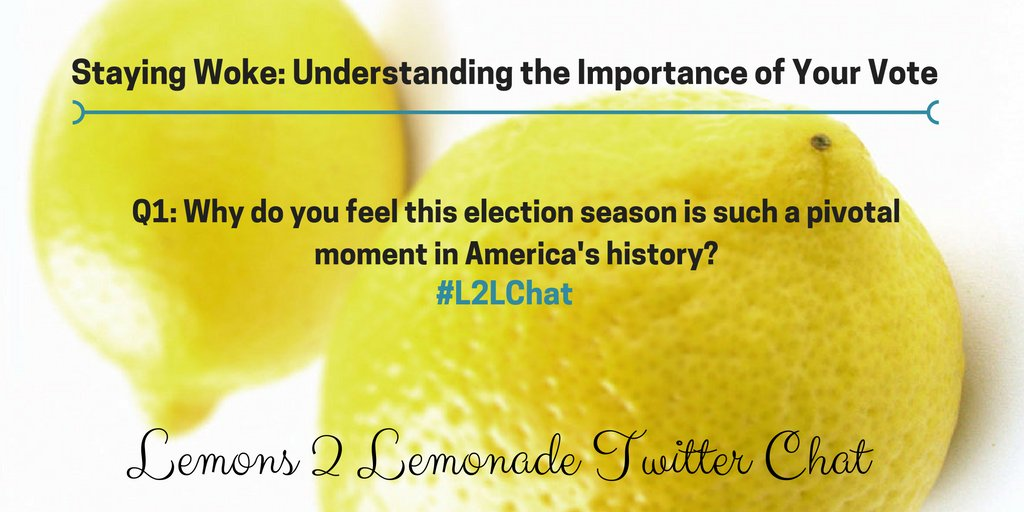 Q1: #L2LChat - @CallMeWilsar & @VictoriaDKirby https://t.co/SRDEUqlwme