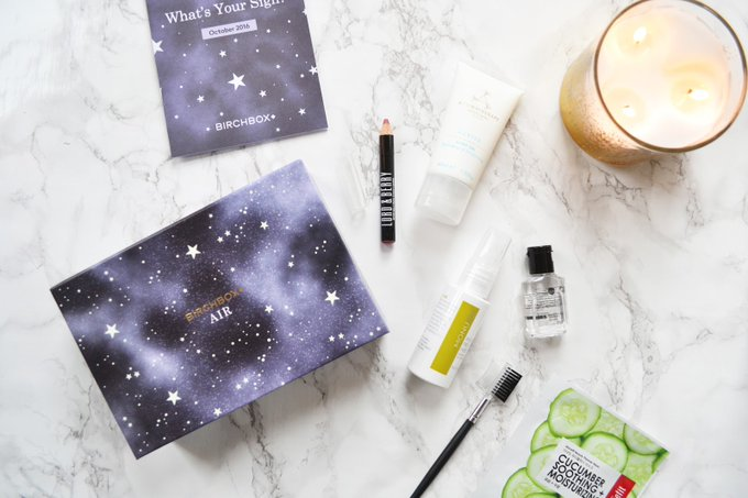 Today's blogpost featuring BirchboxUK Star Sign Edition bbloggers