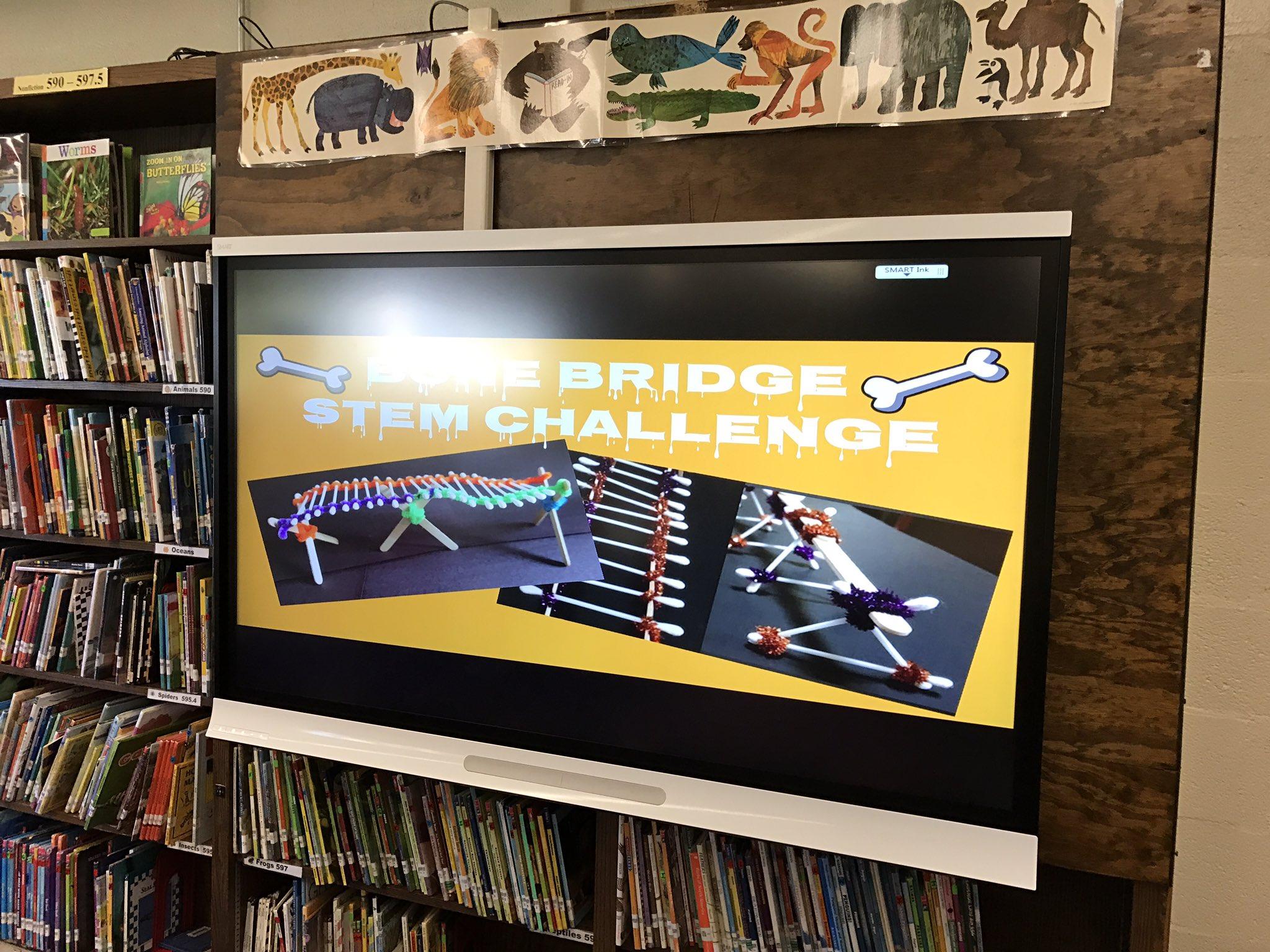 Wwp Library On Twitter Congrats Gr2 Bone Bridge Stem Challenge  # Electro Muebles Keury