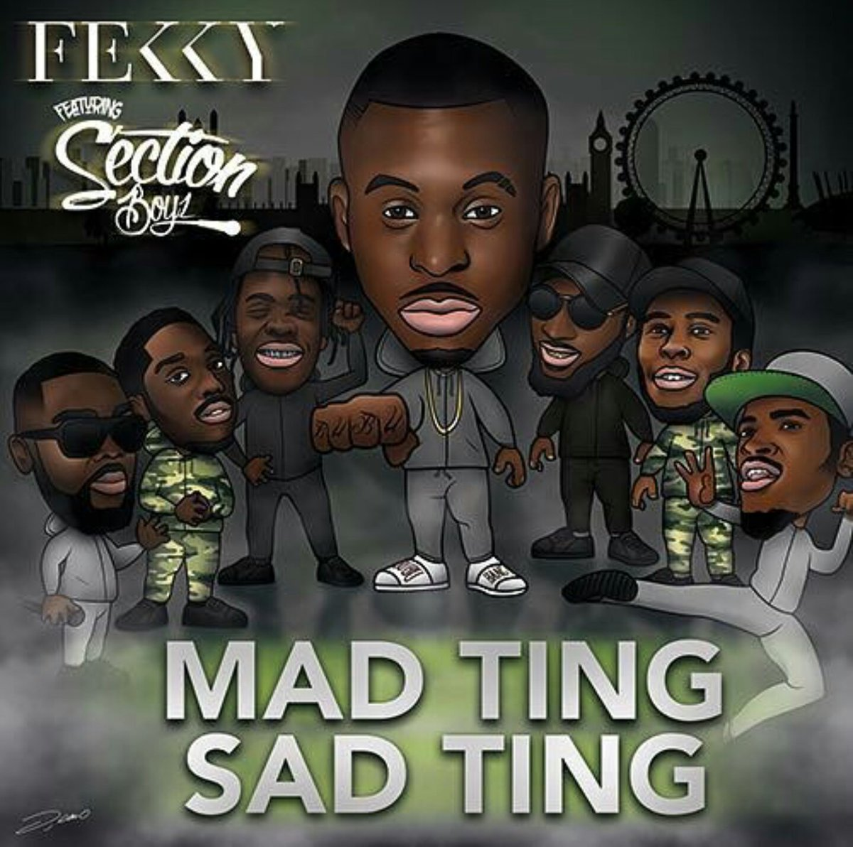 "@FekkyOfficial n @SectionBoyz_   ""No scuffin or fighting it'll be Straight thunder n lightning""⛈⛈  Large up Shazza https://t.co/hODxH08Ii8"