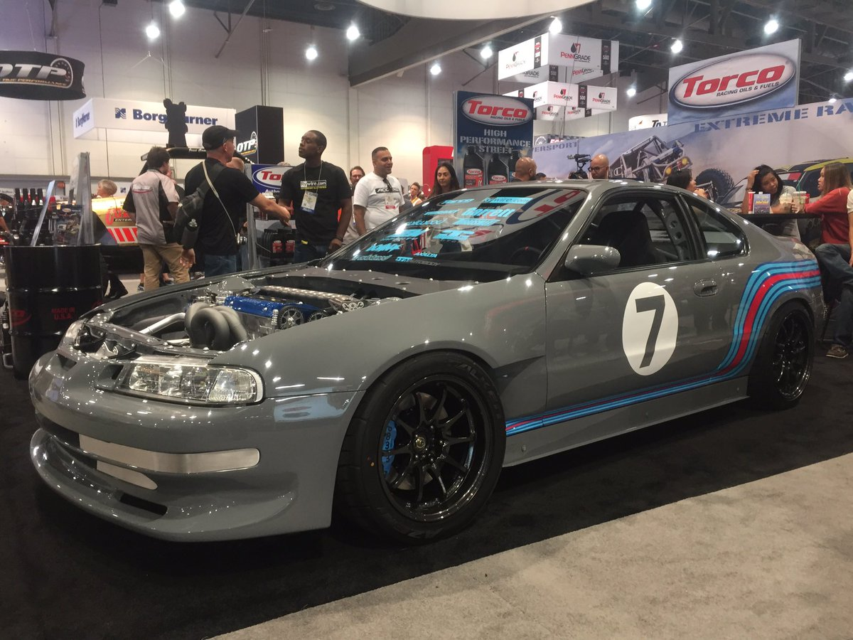 This 92 Honda Prelude Build Was Just Voted In The Top 10 Builds At SEMA Show Hondapictwitter LFz27XSSBC