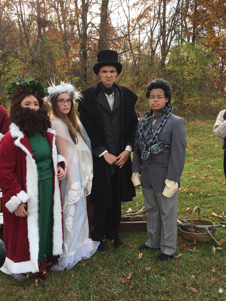 Ghost Of Christmas Present Costume.Lhhs Theater On Twitter Scrooge Jacob Marley The Ghost