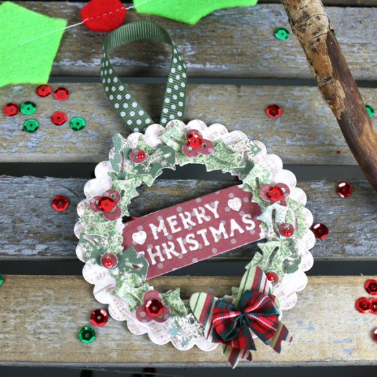 DIY Die cutting Christmas projects