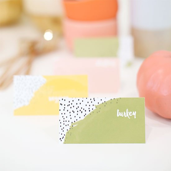 DIY DIY Printable Food Label Cards