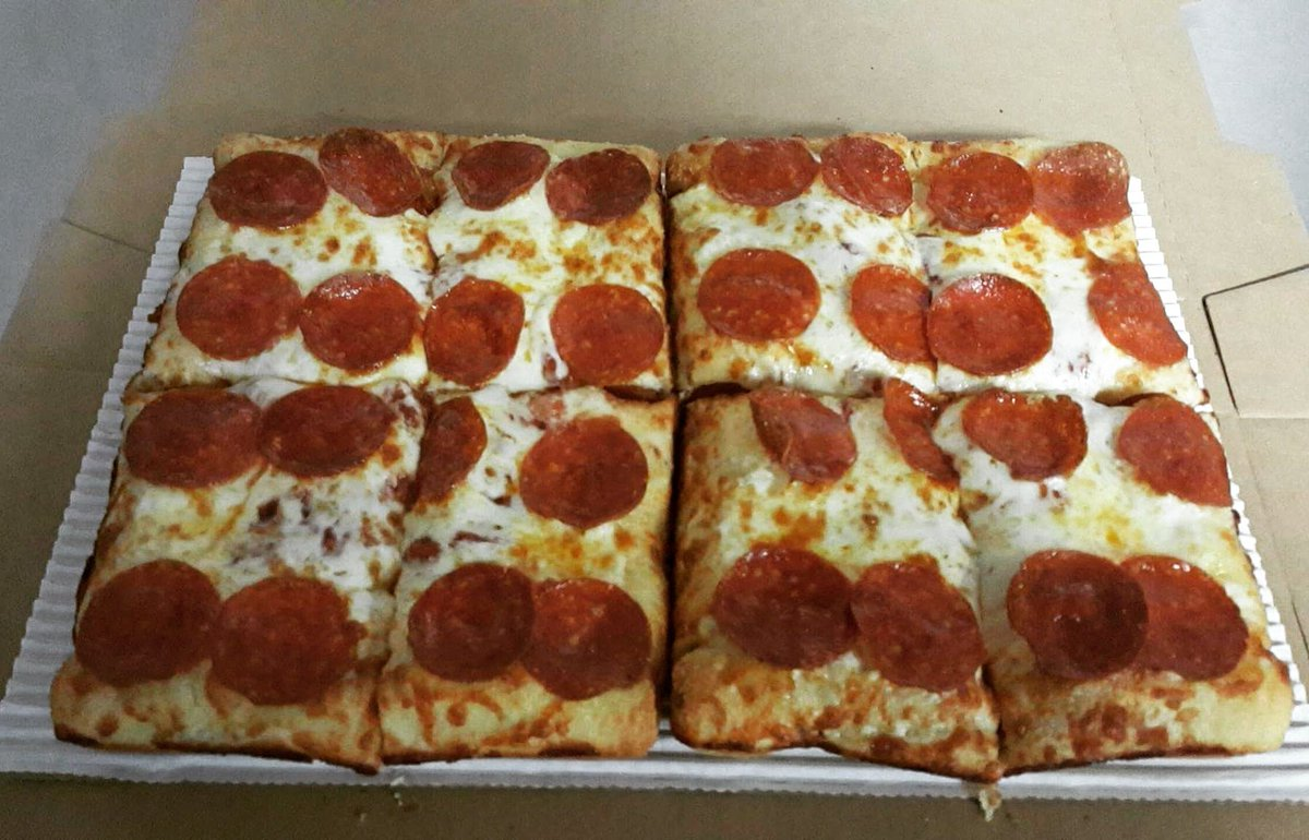 Little Caesars PB On Twitter All New Limited Time Only Pepperoni And Cheese Stuffed Crust Deep Dish Try It Tonight During The WorldSeries
