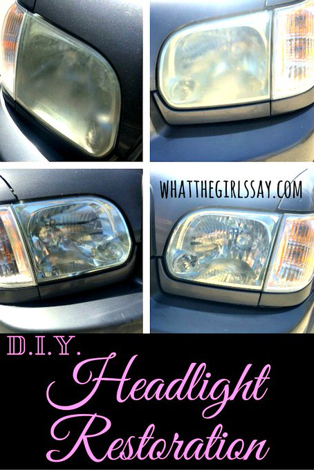 Want an easy way to help your car look new again?! easydiy diy restore blogger blog