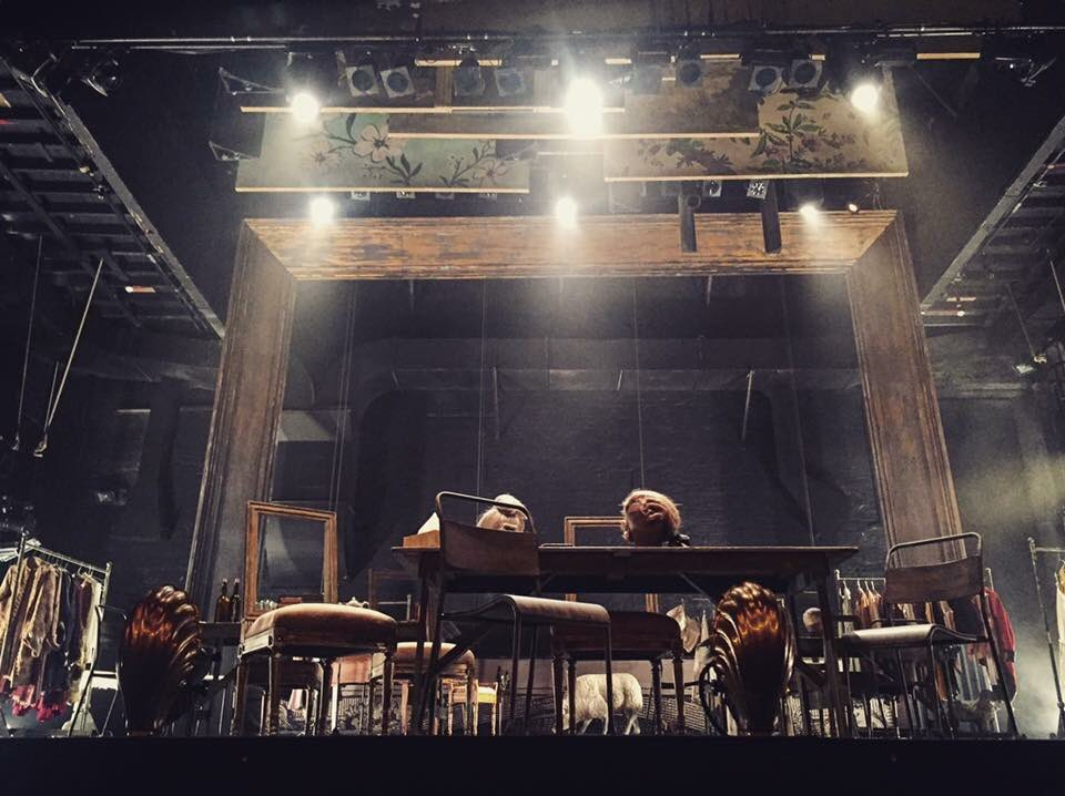 #TheRivals @citizenstheatre was a total hoot. And what an amazing use of the stage! Beautiful! https://t.co/q4t95EkYLa