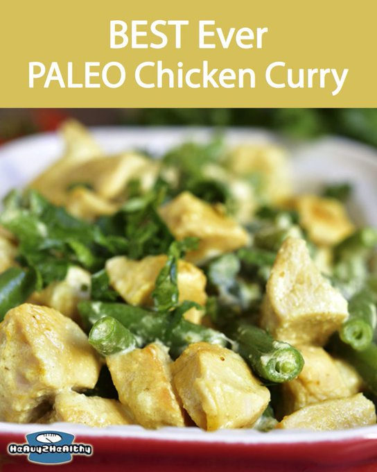 The Best Ever Paleo Chicken Curry Recipe