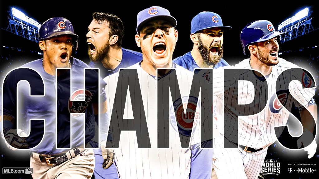 1907. 1908. 2016.  108 years later, the @Cubs are #WorldSeries #CHAMPS! https://t.co/6rzYrj93OC