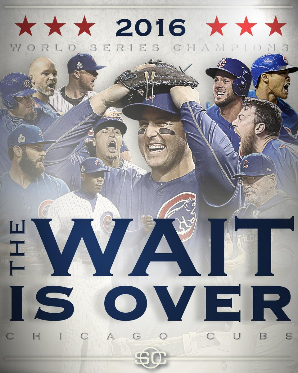 Image result for cubs 2016 world series champions